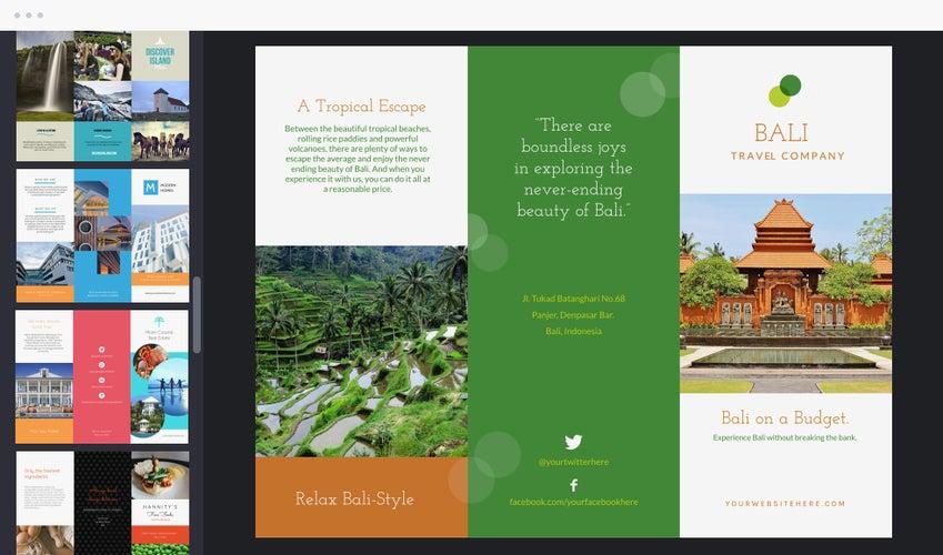 Online Brochure Maker by BeFunky