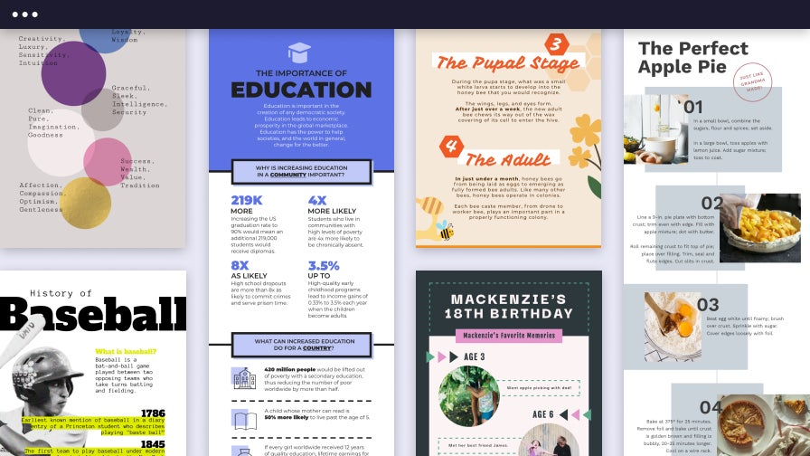 Infographic Templates by BeFunky