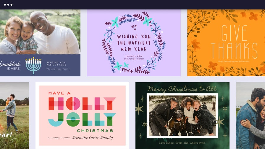 Holiday cards for any occasion