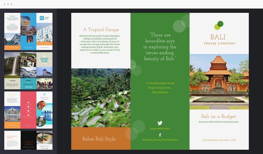Online Brochures Templates