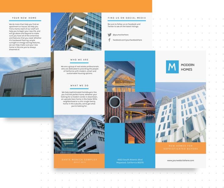 Brochure Maker Befunky Free Online Brochure Templates
