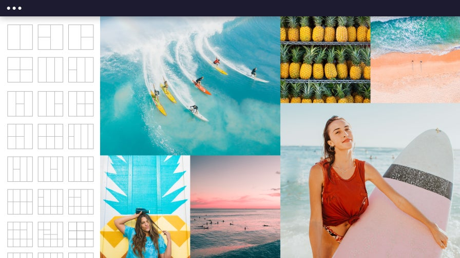 Créateur de collage photo par BeFunky