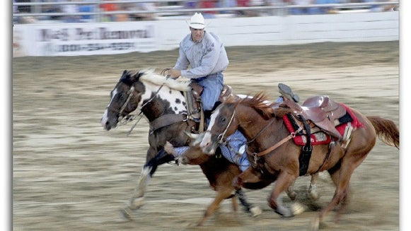 A rodeo scene by Nirmal