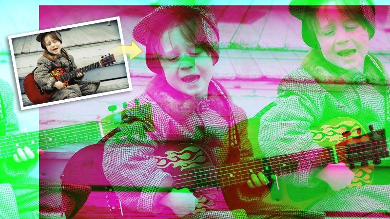 Holga effect sample photo