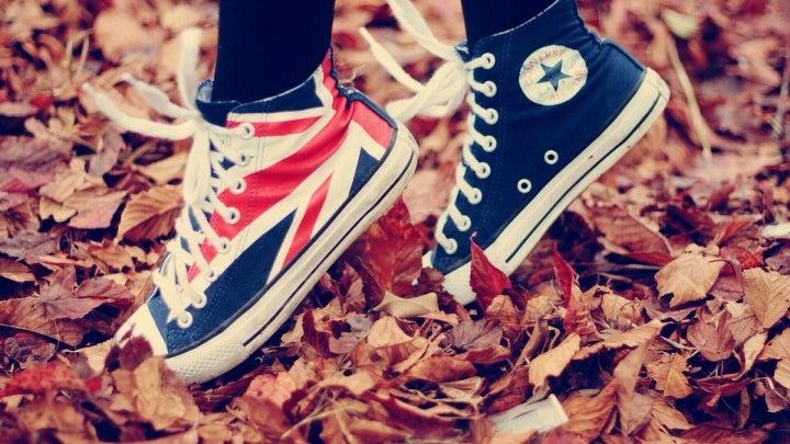 Clothing, Apparel, Footwear, Shoe, Sneaker, Person