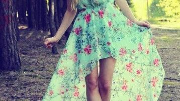 Dress, Clothing, Apparel, Female, Person, Human