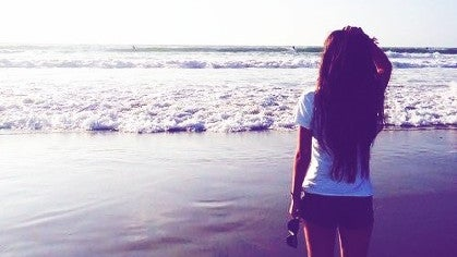 Sea, Ocean, Nature, Water, Outdoors, Person
