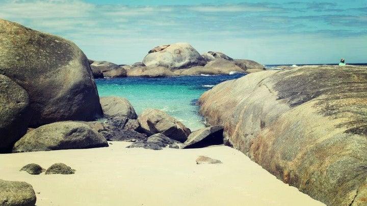 Rock, Shoreline, Water, Sea, Ocean, Nature