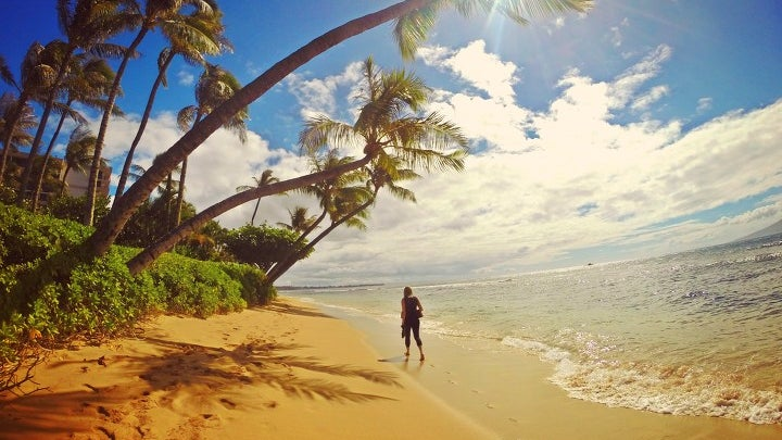 Summer, Person, Human, Tropical, Shoreline, Water