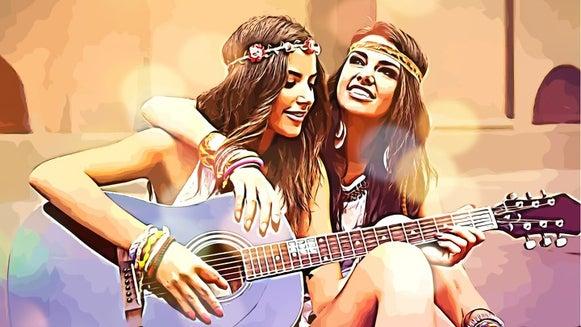 Guitar, Leisure Activities, Musical Instrument, Person, Human, Sunglasses
