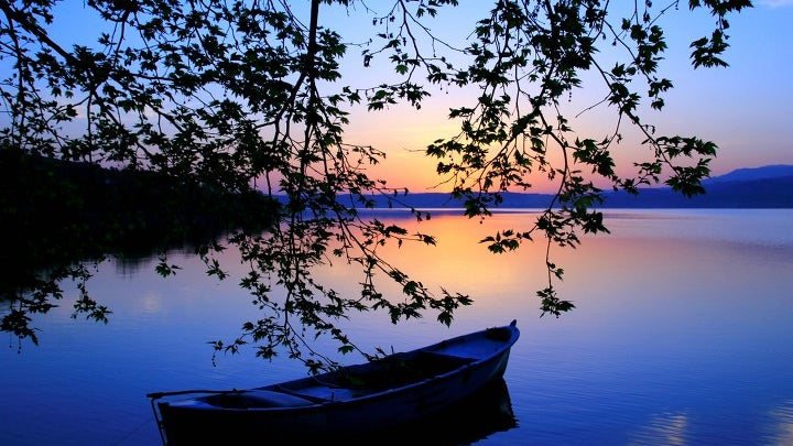 Boat, Vehicle, Transportation, Outdoors, Rowboat, Nature