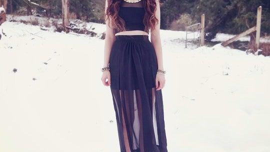 Clothing, Apparel, Dress, Female, Person, Human