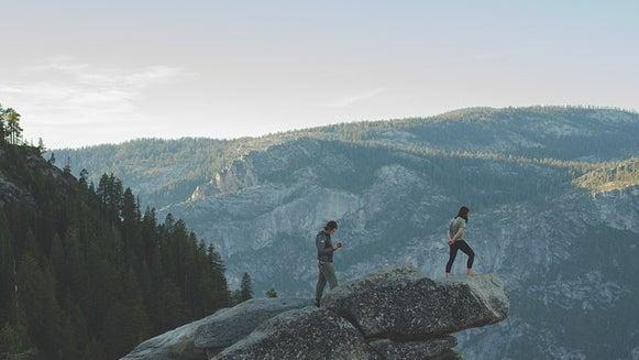 Person, Human, Nature, Outdoors, Rock, Mountain