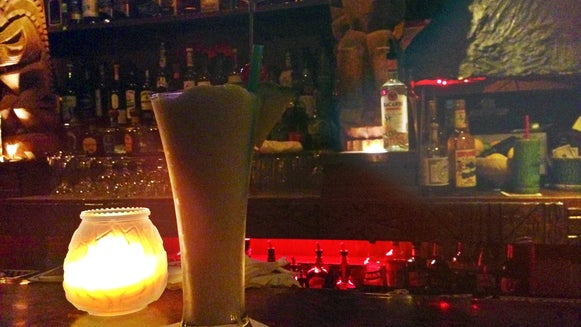 Pub, Bar Counter, Glass, Candle, Beer, Alcohol
