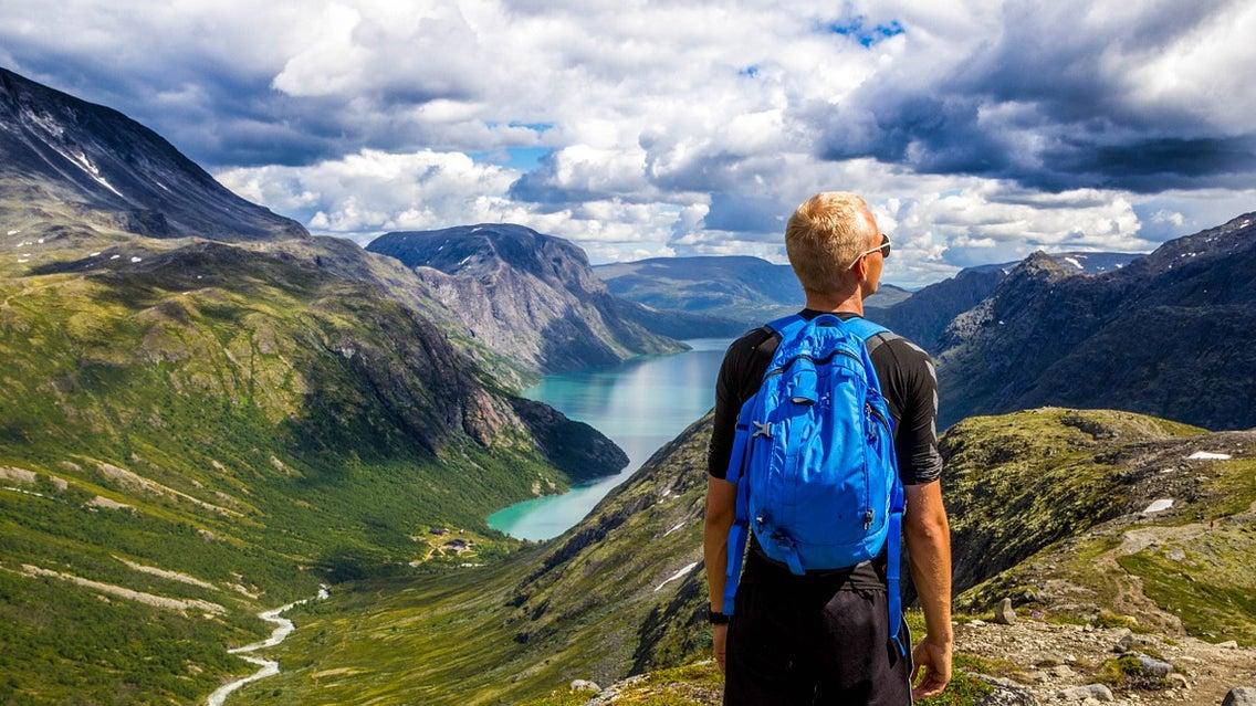 Outdoors, Person, Human, Nature, Mountain, Hiking