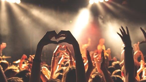 Crowd, Person, Human, Rock Concert, Concert, Bonfire