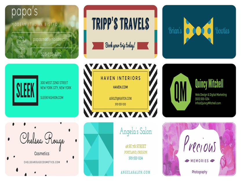 Guide To Making Business Cards