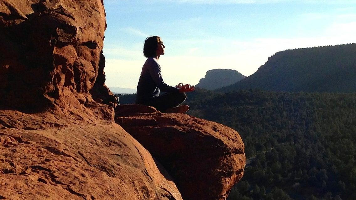 Nature, Outdoors, Person, Human, Cliff, Mesa