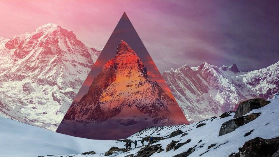 Mountain Range, Mountain, Nature, Outdoors, Peak, Person
