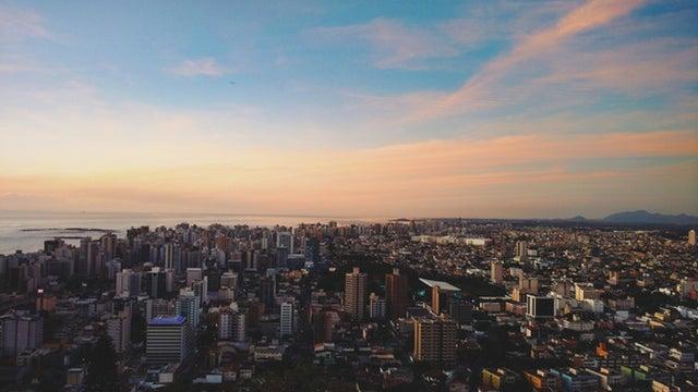 Landscape, Nature, Outdoors, Metropolis, City, Urban
