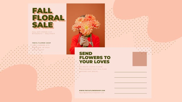 marketing postcard featured
