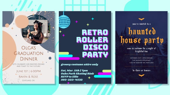 themed party header
