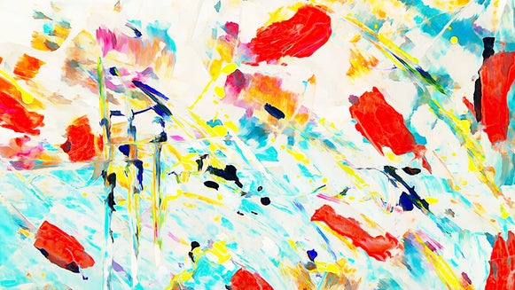 Abstract watercolor featured