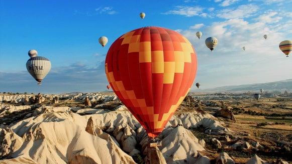 Balloon, Ball, Hot Air Balloon, Aircraft, Transportation, Vehicle
