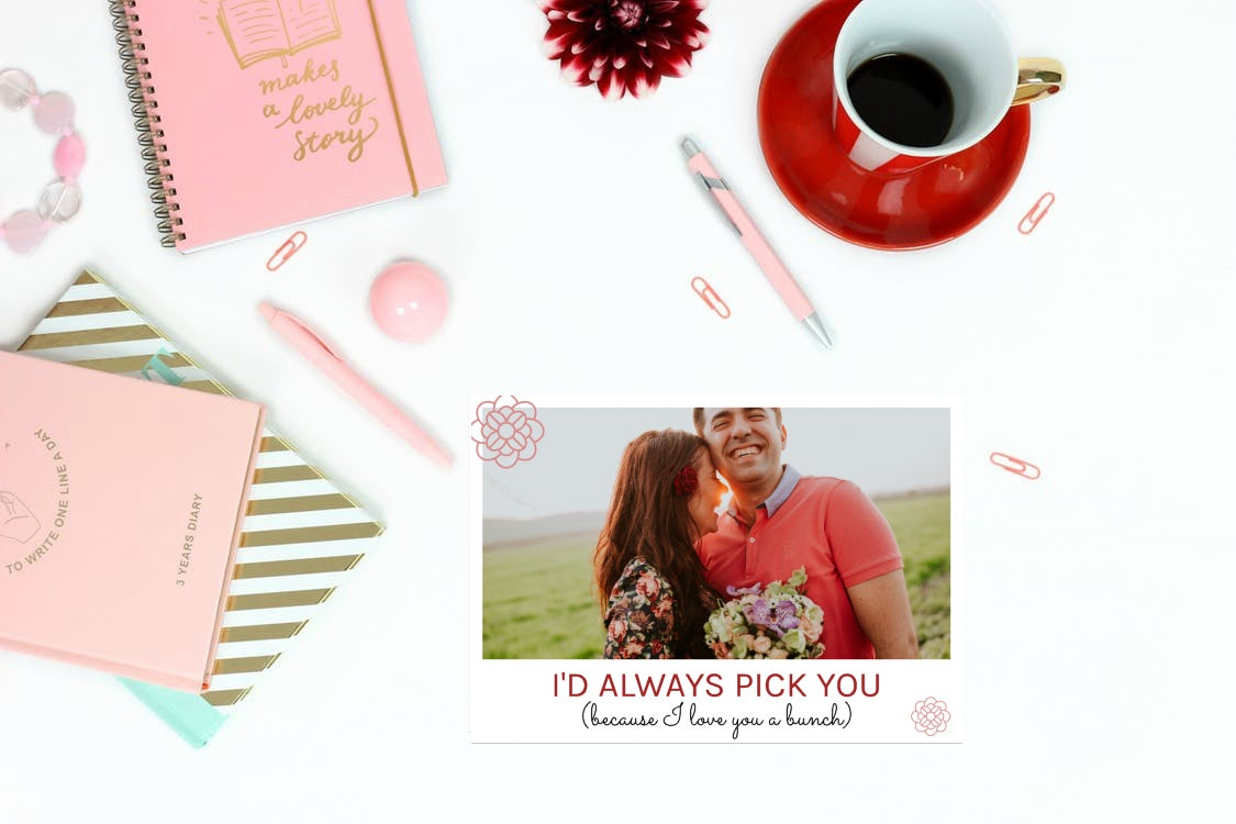 personalized valentines day card templates in befunky