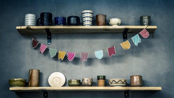 Shelf, Furniture, Sideboard, Cupboard, Closet, Meal