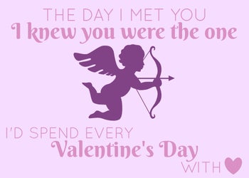 tarjeta de San Valentín para la prometida by BeFunky