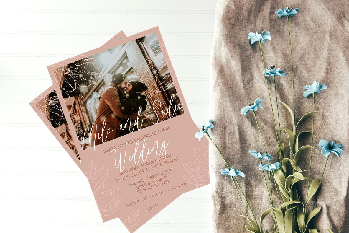 Your Guide To Diy Wedding Invites With Customizable Templates Learn Befunky