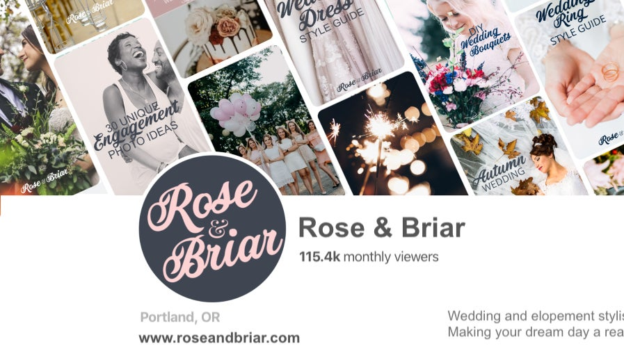 how to brand your Pinterest business page