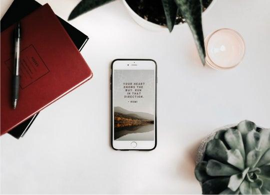 design diy wallpaper for iPhone