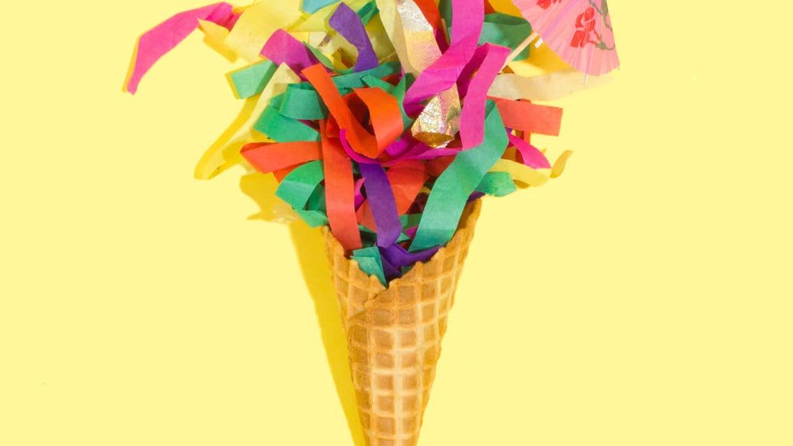 Cone, Paper