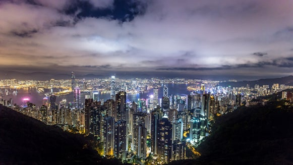 how to capture city at night photography