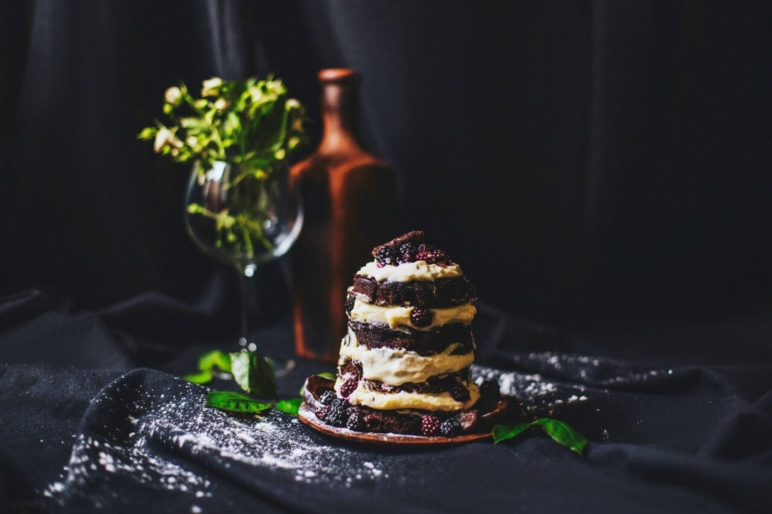 how to edit food photography