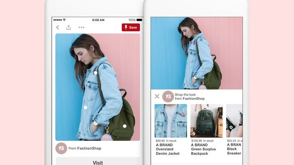 how to create shoppable Pinterest Graphics in BeFunky Graphic Designer