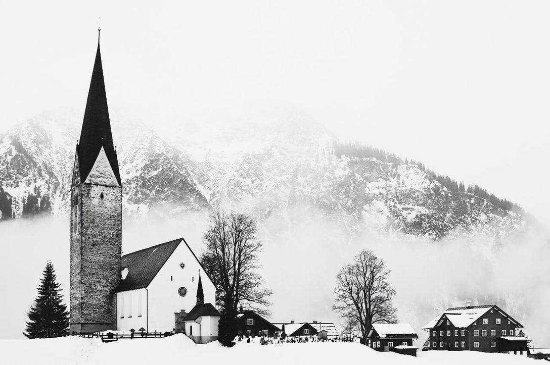 best black and white filters for winter photos