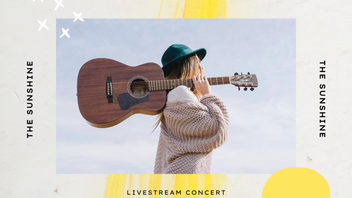 how to promote live stream concert on social media