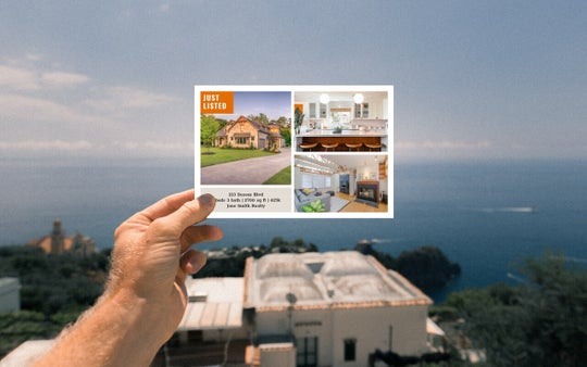 Real Estate Postcard Templates by BeFunky