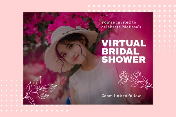 how to host virtual bridal shower party
