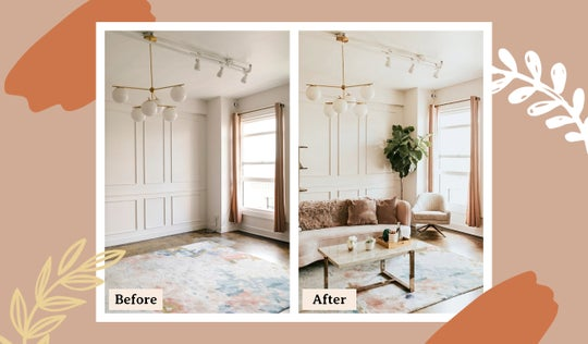 before and after photo collage layouts by BeFunky