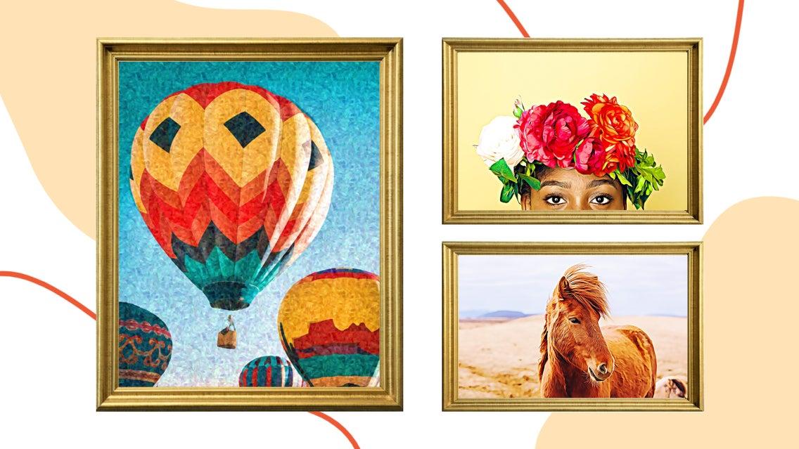 Horse, Animal, Mammal, Art, Collage, Advertisement