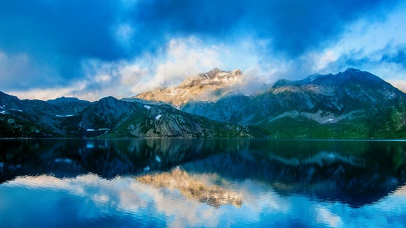 Nature, Outdoors, Mountain Range, Mountain, Water, Scenery