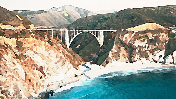 Final photo to watercolor image